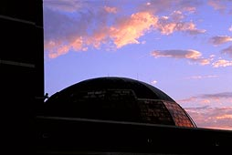 Planetarium dome TSU art (c) 2001 chaplo, also large format 4X5 available for marketing and trade shows