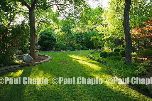 Landscape architecture photography Dallas landscape