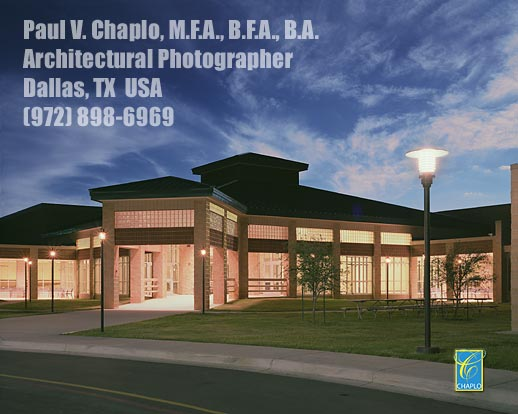 Architectural Photography TWILIGHT Digital Dallas TX Fort Worth Texas Architectural Photographer Paul Chaplo�2015