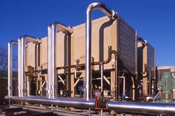 HVAC Heating cooling plant Industrial Photographer Dallas TX Photography Texas Construction Digital Photographers
